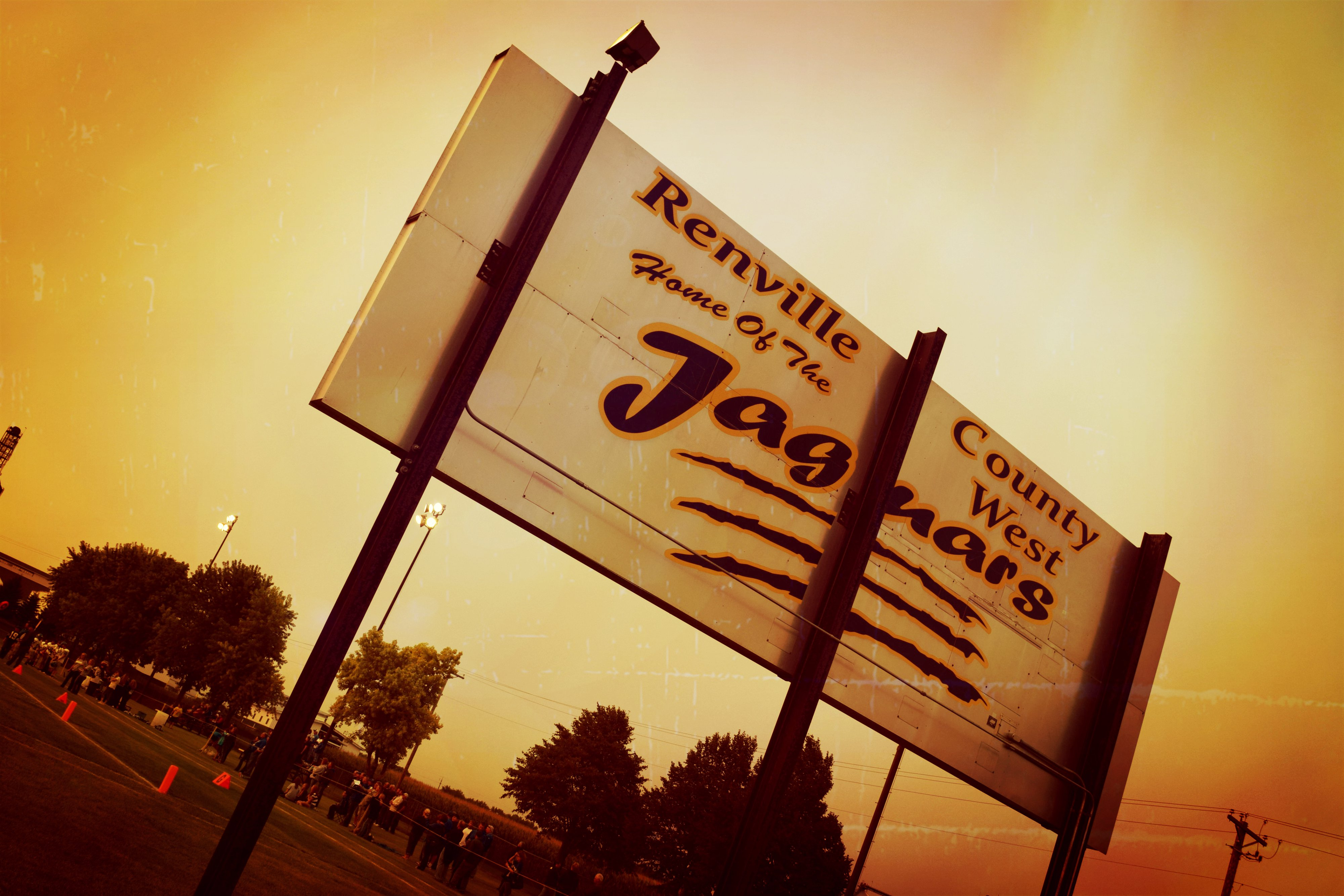 home of the jaguars sign